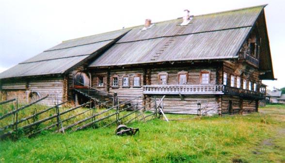 Русская деревянная изба исконное